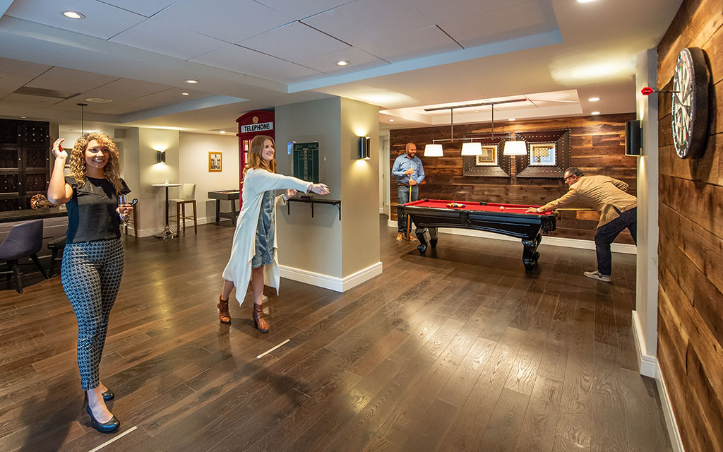 King George Hotel in San Francisco - Shuffle Board And FloWater Station