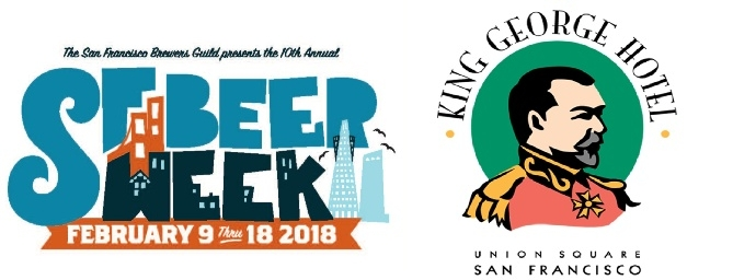 King George Hotel Participates in San Francisco Beer Week 2018