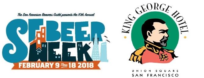 King George Hotel Participates in San Francisco Beer Week 2018