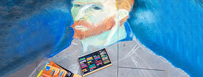 San Francisco Events - North Beach Festival - Street Painting & Chalk Art
