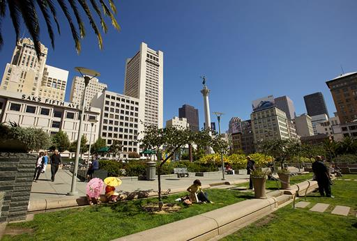 Union Square in San Francisco, California