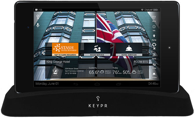 KEYPR In-Room Tablet