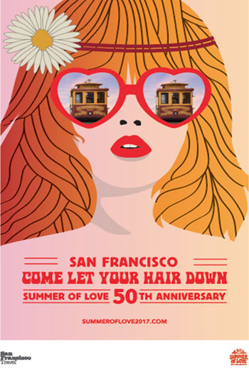 San Francisco's Summer of Love 50th Anniversary