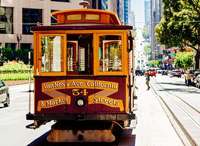 San Francisco Hotel Cable Car Package