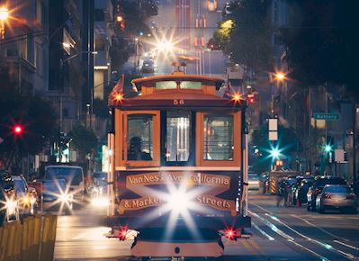 Trolley Night Light