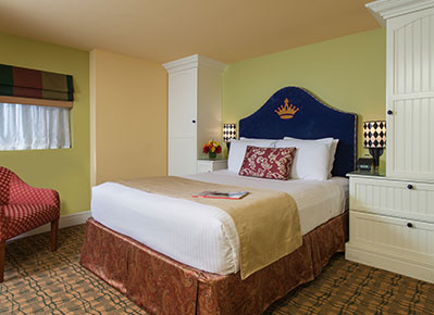 King George Hotel - A Greystone Hotel, San Francisco Deluxe Rooms